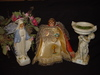Three Religious statues Tallest 13""