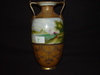 "Nippon Vase hand painted 11.5"" tall"