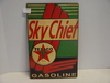 Contemporary Sky Chief Texaco Tin Sign