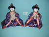 "Pair Of 7"" Japanese Figures"