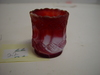 Colored Glass Toothpick Holder