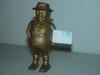 """5"""" Standing Man Cast Iron Bank"""