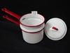 Enamel Ware Double Boiler w/Lid