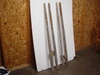 "2 Pair of Vintage Stilts, Different Heights, 61""T"