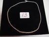 "Sterling Silver Necklace 0.530 Troy Oz. (18"")"