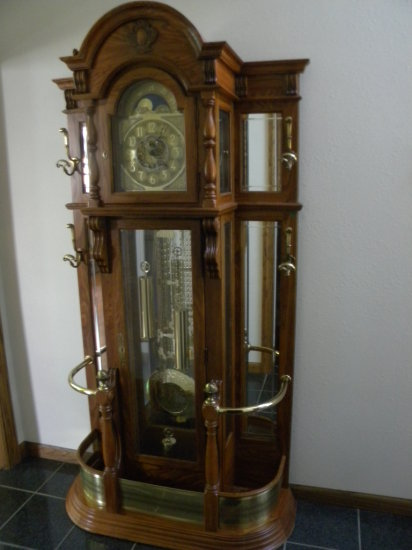 Large Grandfather Clock