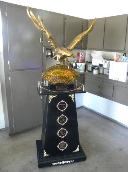 Brass Eagle on Base