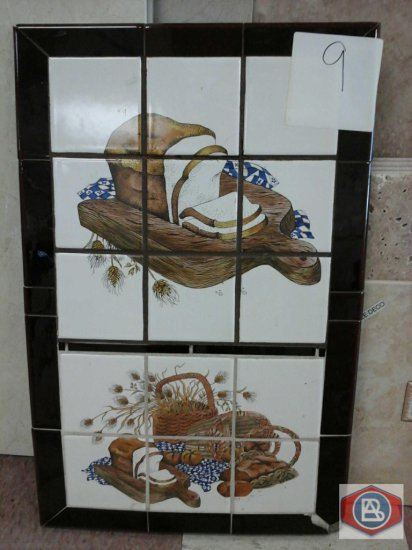 Mosaics bread designs