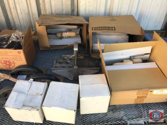 Lot of Tools, Trowels, Supplies