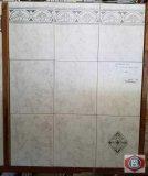 Cerdena gris 8x10 wall tile