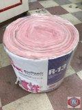 Pink insulation roll