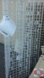 Grid Rack Display Rack with Hooks