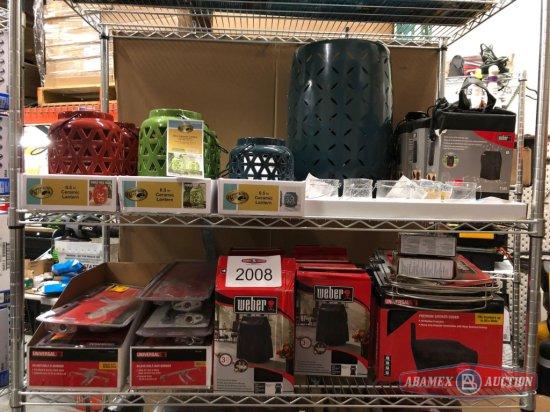 Grill accessories + lanterns