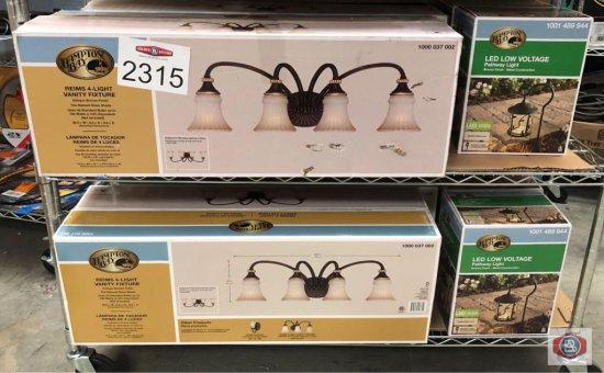 Light fixtures + LED lights