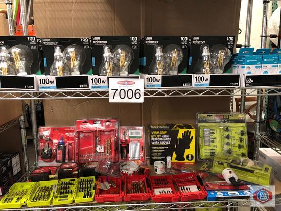 Light bulbs & tools