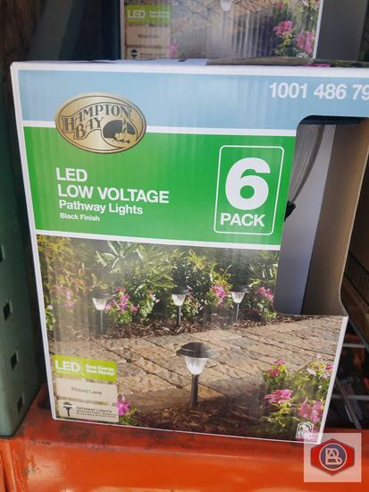 Hampton Bay LED low voltage Pathway lights six pack