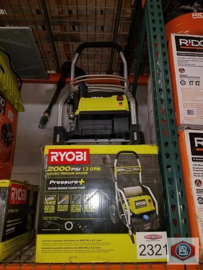 Ryobi 2000 pressure washer