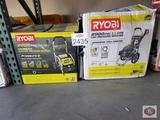 Ryobi pressure washers