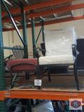 Hampton bay chair with Mini cushion chair