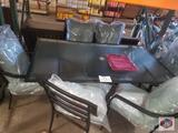 patio dining table with chairs
