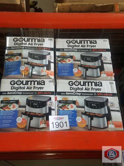 Gourmia 6 Qt Digital Air Fryer 8 pcs