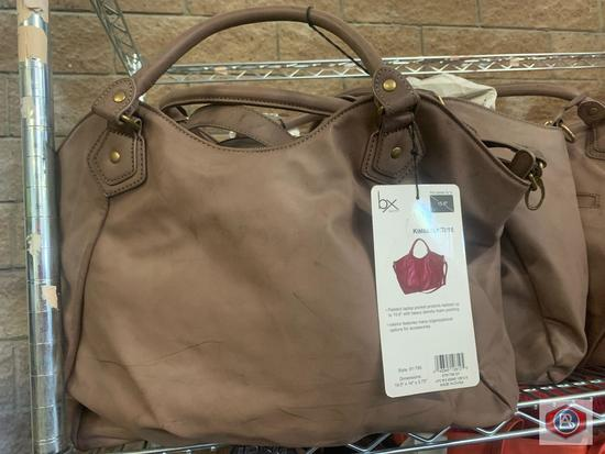 BX Buxton padded laptop tote protects laptops up to 15.6? heavy density foam padding. 6 color Brown