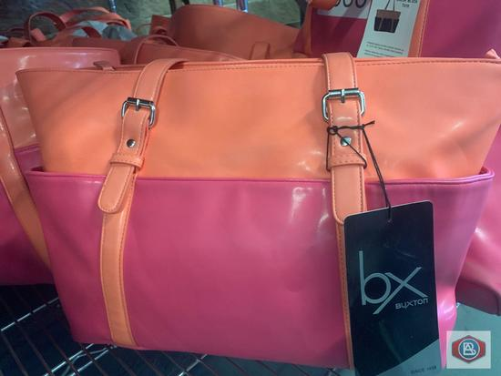 BX Buxton padded laptop tote protects laptops up to 15.6? with heavy density foam padding 6 color