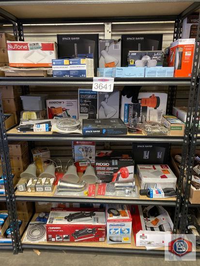 Home improvement shelf