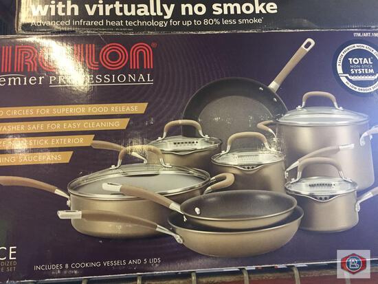 Cookware Lot. Circulon. Mueller. ICook. Tfal.