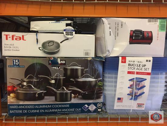 Kitchenware and housewares.