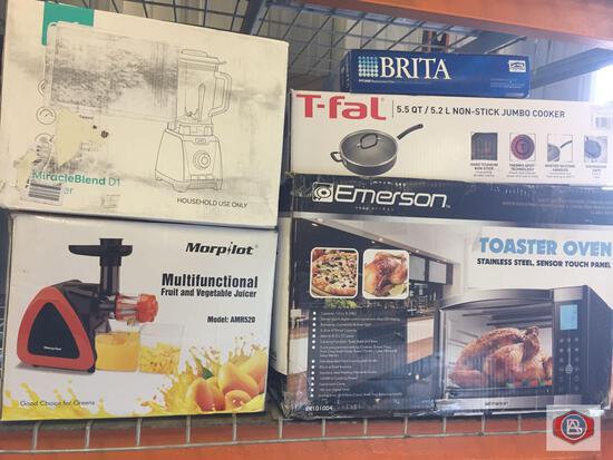 Kitchenware. Juicer. Blender. Toaster Oven...