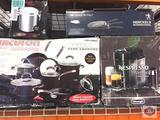 Kitchenware Lot. Circulon. Nespresso. Tuscany granite.
