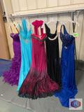 Beautiful Dresses couture Miss size 2 color purple / size 6 color turquois / size 6 color