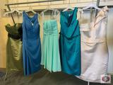 Beautiful dresses Couture Miss size 8 color Champagne /. Size 12 color teal. /. Size 10 color mint.