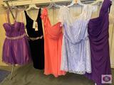 Beautiful dresses Couture Miss Size 10 color vivpurple / size 8 color Black / size 10 color Coral. /