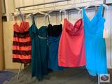 Beautiful dresses Couture Miss Size 10 color Sorbet. / Size 10 color teal. / Size 12 color teal /