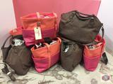 Handbags - Laptop bags. Leather.