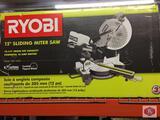 RYOBI 12? Sliding Miter Saw Model TSS120L
