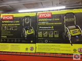 RYOBI 1700 psi Electric Pressure washer RYOBI 2000 psi Electric Pressure Washer Brushless