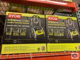 2 Ryobi 1700 Psi 1.2 GPM Electric pressure Washer