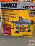 DeWalt Flexvol Brushless 60vMAX 8-1/4? (210mm) Table saw