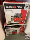 Porter cable Air compressor 150 psi 6 gallon. /. Porter cable Air compressor 150 psi 6 gallon combo
