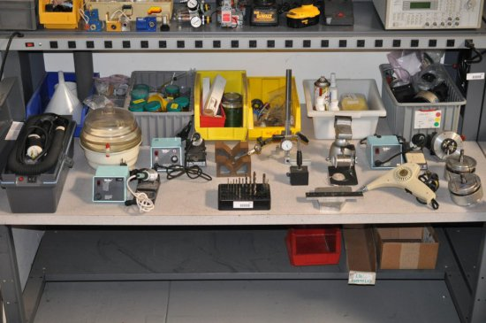 Portable vaccum, soldering equipment and drill bits