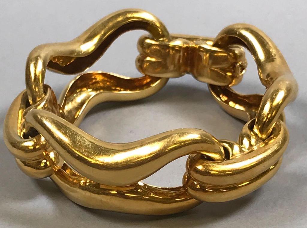Large 18k Gold Bracelet