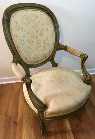French Provencial Fauteuil Style Chair (LPO)