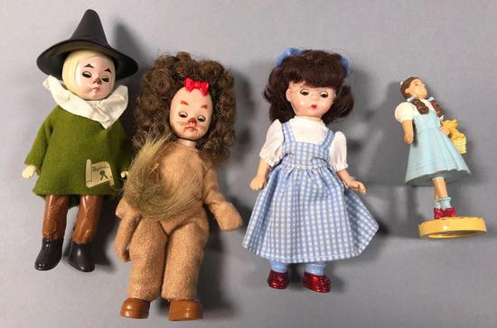 (4) Wizard of Oz Dolls