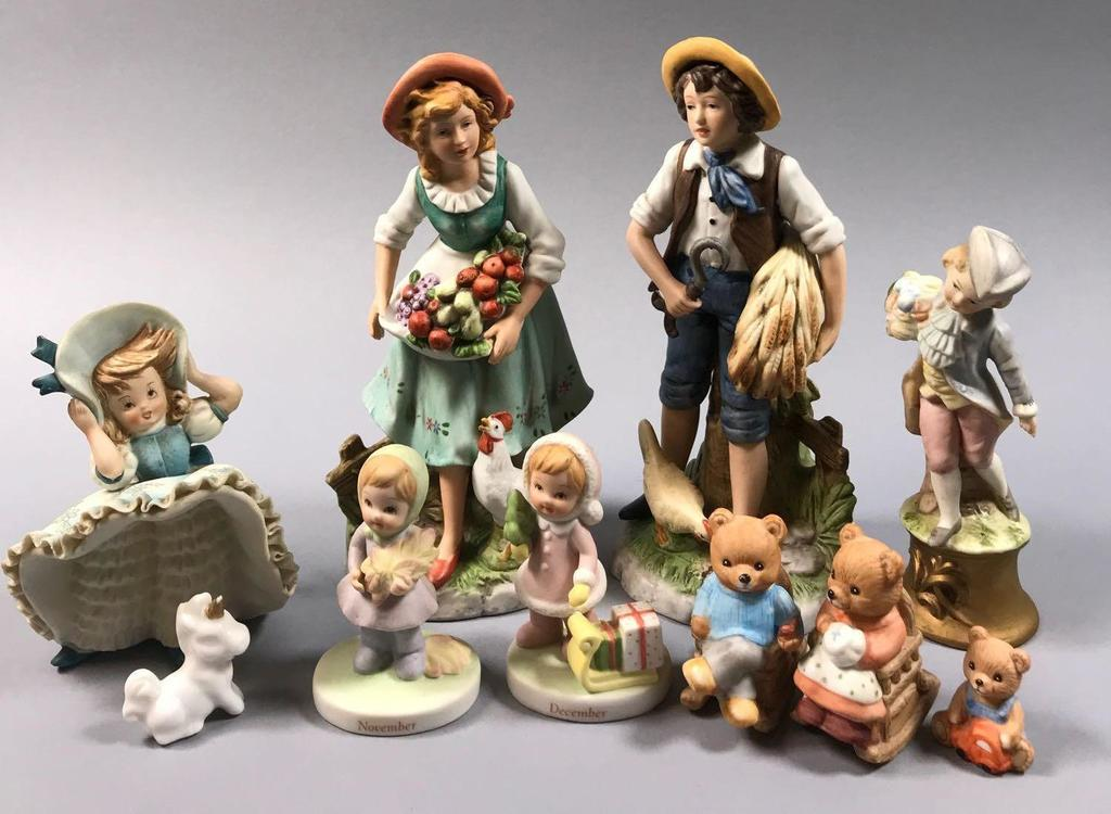 Assorted Figurines
