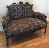 Victorian Settee with (3) Side Chairs (LPO)