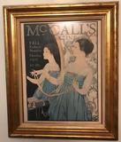Framed McCalls 1917 Magazine Poster (LPO)