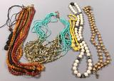 Assorted Costume Jewelry: Necklaces